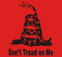 LARGE DON'T TREAD ON ME Kids Clothes