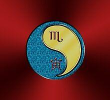 Scorpio & Tiger Yang Metal by astrodesigner75
