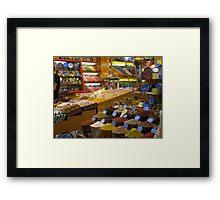 Spice Market in Istanbul Framed Print