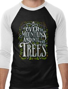 Over The Mountains And Into The Trees Men's Baseball ¾ T-Shirt