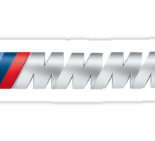 M Power MMM Sticker