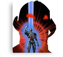 Avengers Ultron Silhouette Canvas Print