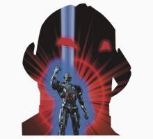 Avengers Ultron Silhouette by zenjamin