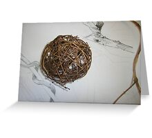 textureshape Greeting Card