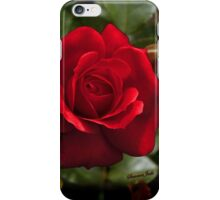 My Love is Like a Red, Red Rose... iPhone Case/Skin