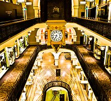 QVB at Night by David Petranker