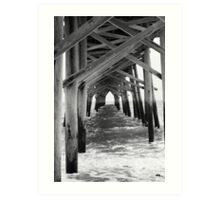 Holden Beach Pier Art Print