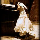 Angel in a City Alley  by Cathryn  Lahm