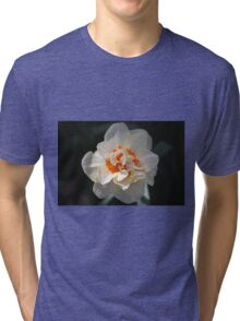 Blooming Double Daffodil  Tri-blend T-Shirt