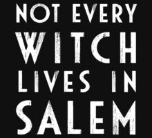 Not Every Witch Lives In Salem T-Shirt
