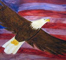Spirit of America Bald Eagle by janetmarston