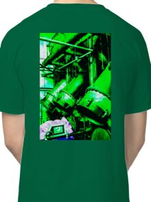Abstracted green tubes  Classic T-Shirt
