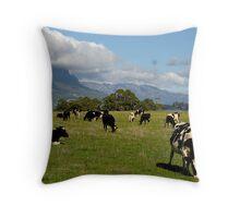 photoj Tas, 'Farmland Mt Roland' Throw Pillow