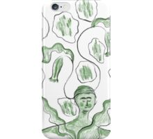 Thinker of Tender Thoughts iPhone Case/Skin