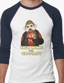 Nien Nunb is my Co-Pilot Men's Baseball ¾ T-Shirt