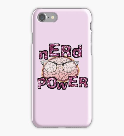 Nerd Power! iPhone Case/Skin