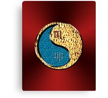Scorpio & Rabbit Yin Fire Canvas Print