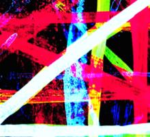Stripy Lines 2 Sticker