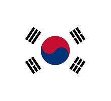 South Korea Cell Phone Case - Korean Flag Galaxy Mobile Phone Cover by deanworld
