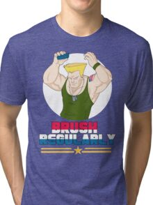Brush Regularly Tri-blend T-Shirt