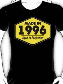 """""""Made in 1996 - Aged to Perfection"""" Collection #51077 T-Shirt"""