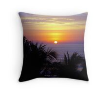 Right before the moon came out...  Throw Pillow