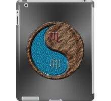 Scorpio & Rabbit Yin Earth iPad Case/Skin