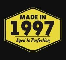 """Made in 1997 - Aged to Perfection"" Collection #51078 by mycraft"
