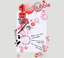 BUBBLELiCiOUS - VOTE for RedBubble! Womens Fitted T-Shirt