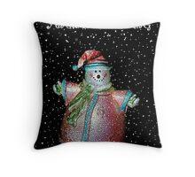 Snow Dude... Throw Pillow