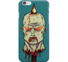 Zombie on-a-stick iPhone Case/Skin
