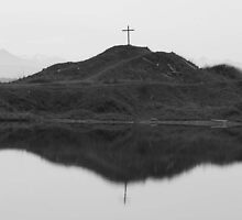Reflective Cross by EvanGBoyd