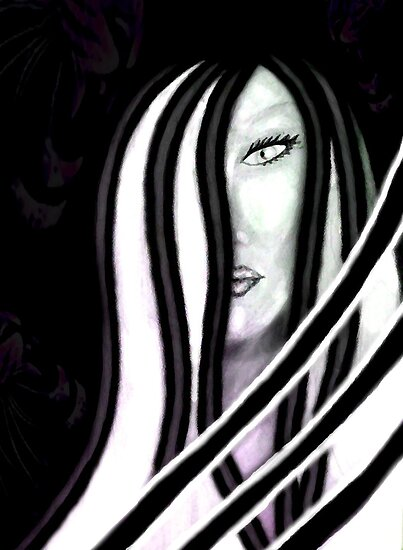 In the Darkness Behind Her by Care