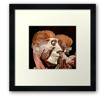 Beauty is only skin deep... Framed Print