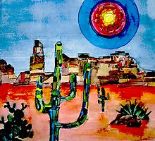 Cactus Sun by BenPotter