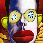 Cucumber Clown by Mike Cressy