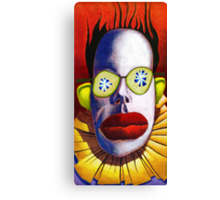 Cucumber Clown Canvas Print