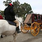 Working Horses at Sovereign Hill by Diana-Lee Saville