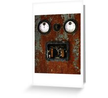 15.4.2015: Rusty Electric Device Greeting Card