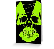 Nuclear Skull Greeting Card