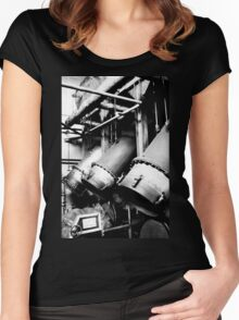 Reduction Pipes Women's Fitted Scoop T-Shirt