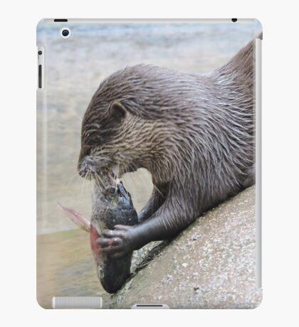 Nom Nom Nom, Tasty Fishy iPad Case/Skin