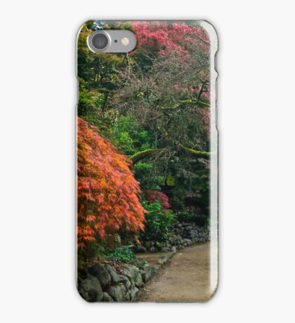 Alfred Nicholas Gardens - Autumn iPhone Case/Skin