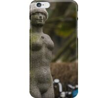 Statue with Hat iPhone Case/Skin