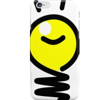 Cartoon Idea Light Bulb iPhone Case/Skin