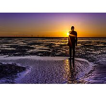 Sunbeams, shadows and silhouettes  Photographic Print