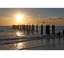 Gulf of Mexico Sunset Photographic Print