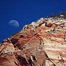 Moon over Zion by Barbara Burkhardt