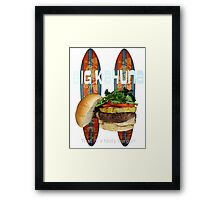 Big Kahuna Burger Framed Print
