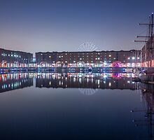 Albert Dock at Night by Paul Madden
